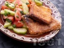 Рецепта Класически кашкавал пане - паниран кашкавал в яйца, брашно и галета